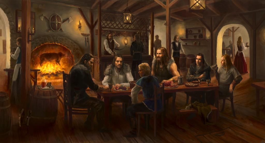 Die Taverne zum grünen Bären (The Sainted Sinners) | RPG