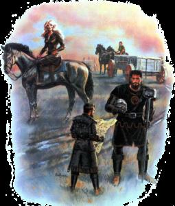 Der Kampf mit dem Glabrezu (The Adventurer)