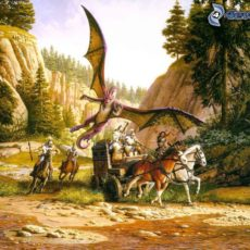 Den Drachen (knapp) entkommen (The Legacy of the Grey Guardians)